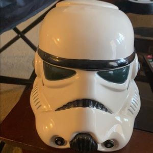 Storm trooper cookie jar